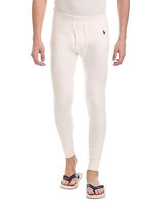 USPA Innerwear Ribbed Knit Thermal Bottoms