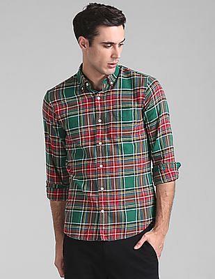 GAP Standard Fit Flannel Pocket Shirt