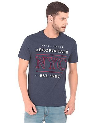 Aeropostale Embroidered Round Neck T-Shirt