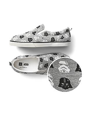 GAP Boys Star Wars Slip-On Sneakers