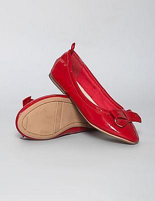 GAP Girls Patent Bow Ballet Flats