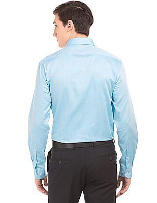 Arrow Textured Slim Fit Shirt