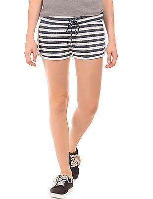Aeropostale Striped Knit Shorts