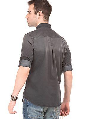 Ed Hardy Washed Slim Fit Shirt