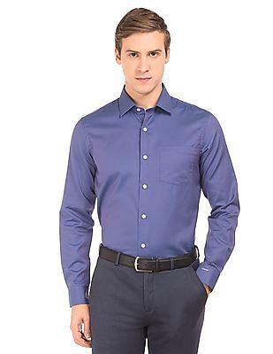 Arrow Dual Tone Slim Fit Shirt