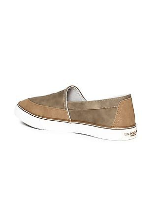 U.S. Polo Assn. Panelled Slip On Shoes