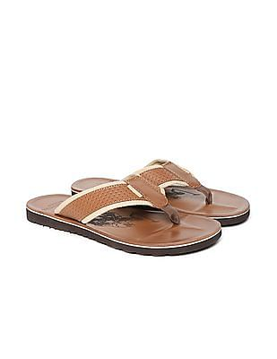 U.S. Polo Assn. Panelled Strap Sandals