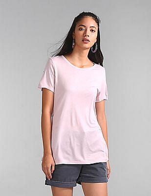 GAP Short Sleeve T-Shirt In Luxe Jersey