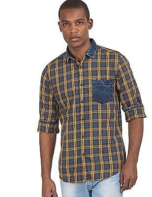 Ruf & Tuf Patch Pocket Check Shirt