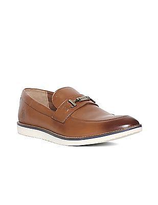 U.S. Polo Assn. Leather Horsebit Loafers