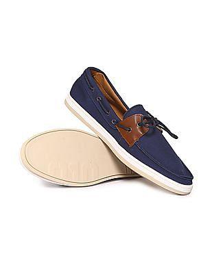 Buy MenCanvas Boat Shoes online at