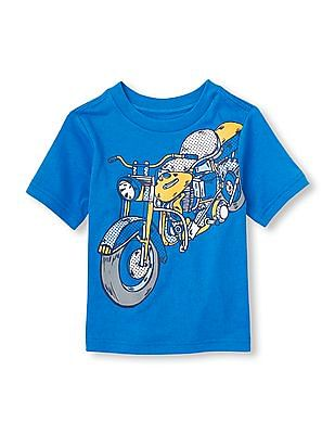 The Children's Place Baby Boy Short Sleeve Graphic T-Shirt
