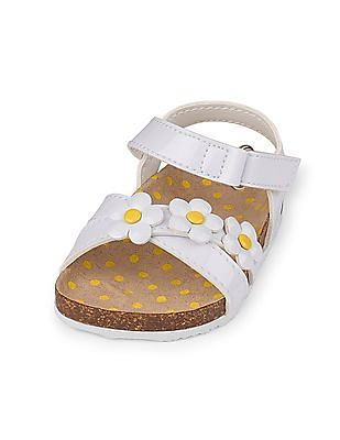 The Children's Place Baby Girls Daisy Luna Sandal