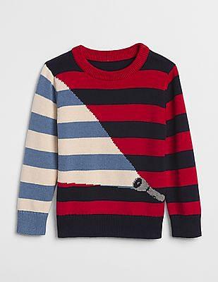GAP Baby Graphic Crewneck Sweater