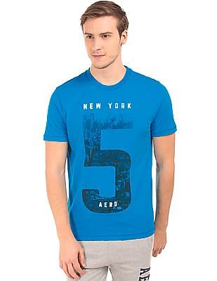 Aeropostale Graphic Print Cotton T-Shirt