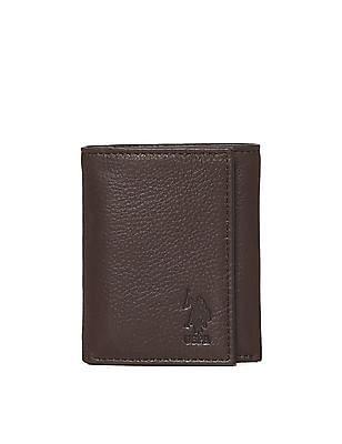 U.S. Polo Assn. Tri-Fold Leather Wallet