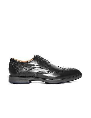 Arrow Wingtip Brogued Derby Shoes