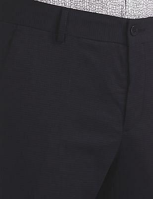Excalibur Super Slim Fit Check Trousers
