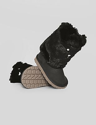 GAP Baby Cosy Bear Booties