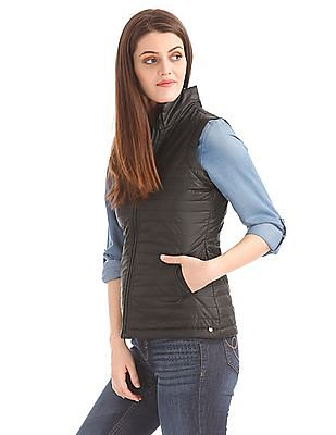 Elle Quilted Padded Gilet Jacket