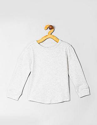 GAP Baby Textured Long Sleeve T-Shirt