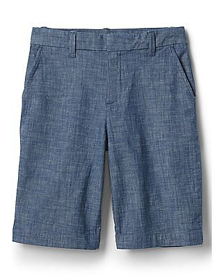 GAP Bermuda Shorts In Stretch Chambray