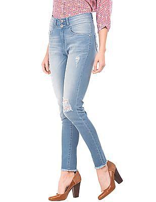 U.S. Polo Assn. Women High Rise Skinny Jeans
