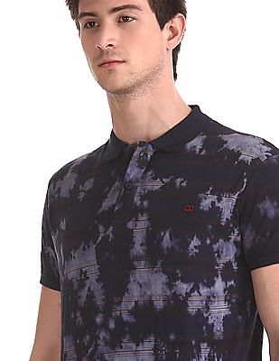 Roots by Ruggers Dyed and Striped Polo Shirt