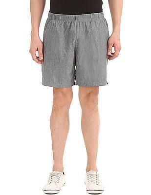 USPA Active Printed Panel Active Shorts