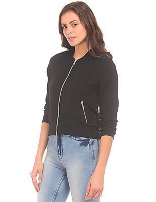 SUGR Textured Zip Up Jacket