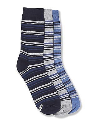 Hanes Formal Crew Socks - Pack Of 3