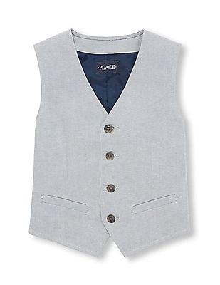 The Children's Place Boys Dressy Vest