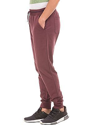 Flying Machine Regular Fit Heathered Joggers
