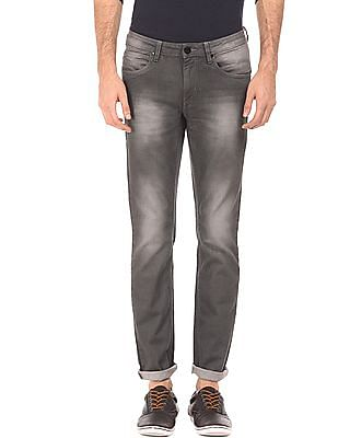 Flying Machine Skinny Fit Bleached Jeans