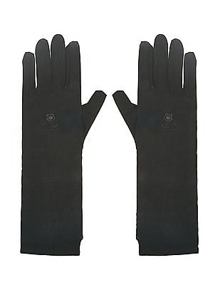 Unlimited Floral Embroidered Gloves
