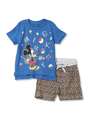 Colt Boys Printed T-Shirt and Shorts Set