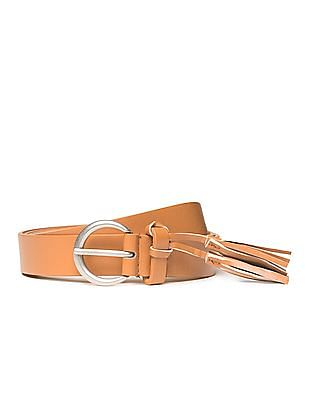 SUGR Solid Tasselled Belt