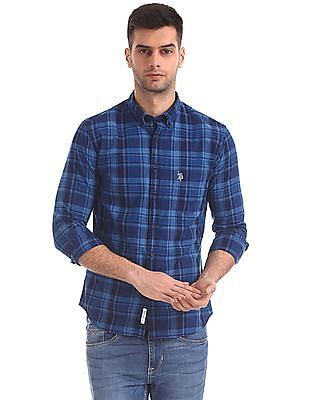 U.S. Polo Assn. Tailored Regular Fit Check Shirt