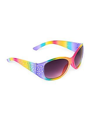The Children's Place Girls Side Embellished Sunglasses