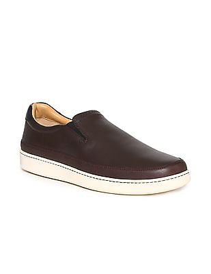 Cole Haan Leather Slip On Shoes