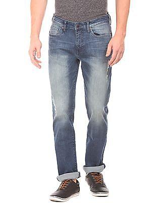 Aeropostale Stone Wash Skinny Fit Jeans