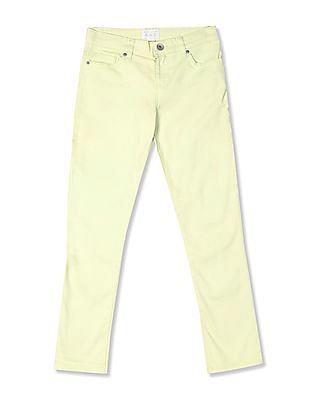 The Children's Place Girls Solid Capri Jeans