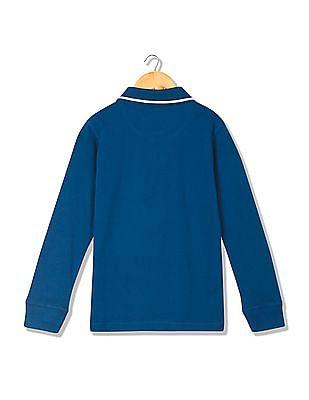FM Boys Boys Slim Fit Polo Shirt