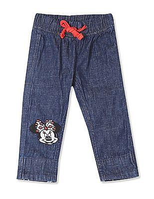 Colt Girls Blue Drawstring Waist Chambray Pants