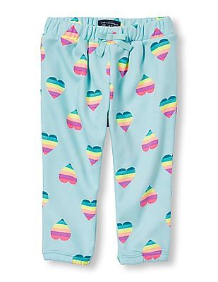 The Children's Place Toddler Girl Active Printed Sweats