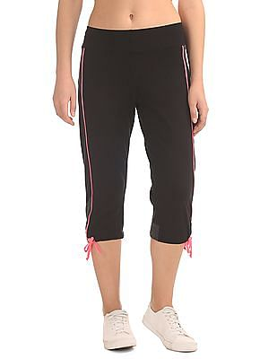 SUGR Cropped Active Track Pants