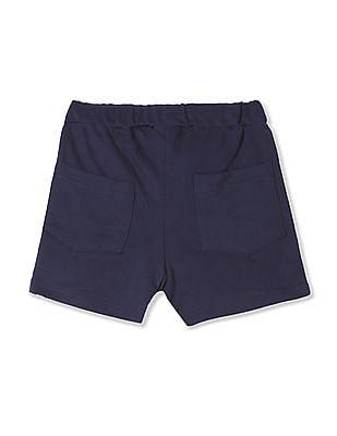 Cherokee Girls Solid Knit Shorts
