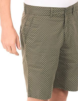 Ruggers Polka Print Cotton Shorts