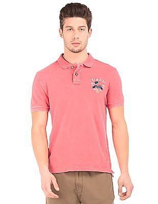 U.S. Polo Assn. Denim Co. Washed Pique Polo Shirt