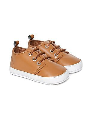 Day 2 Day Boys Textured Lace Up Sneakers
